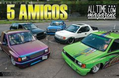 5 Amigos and Lomego dual poster
