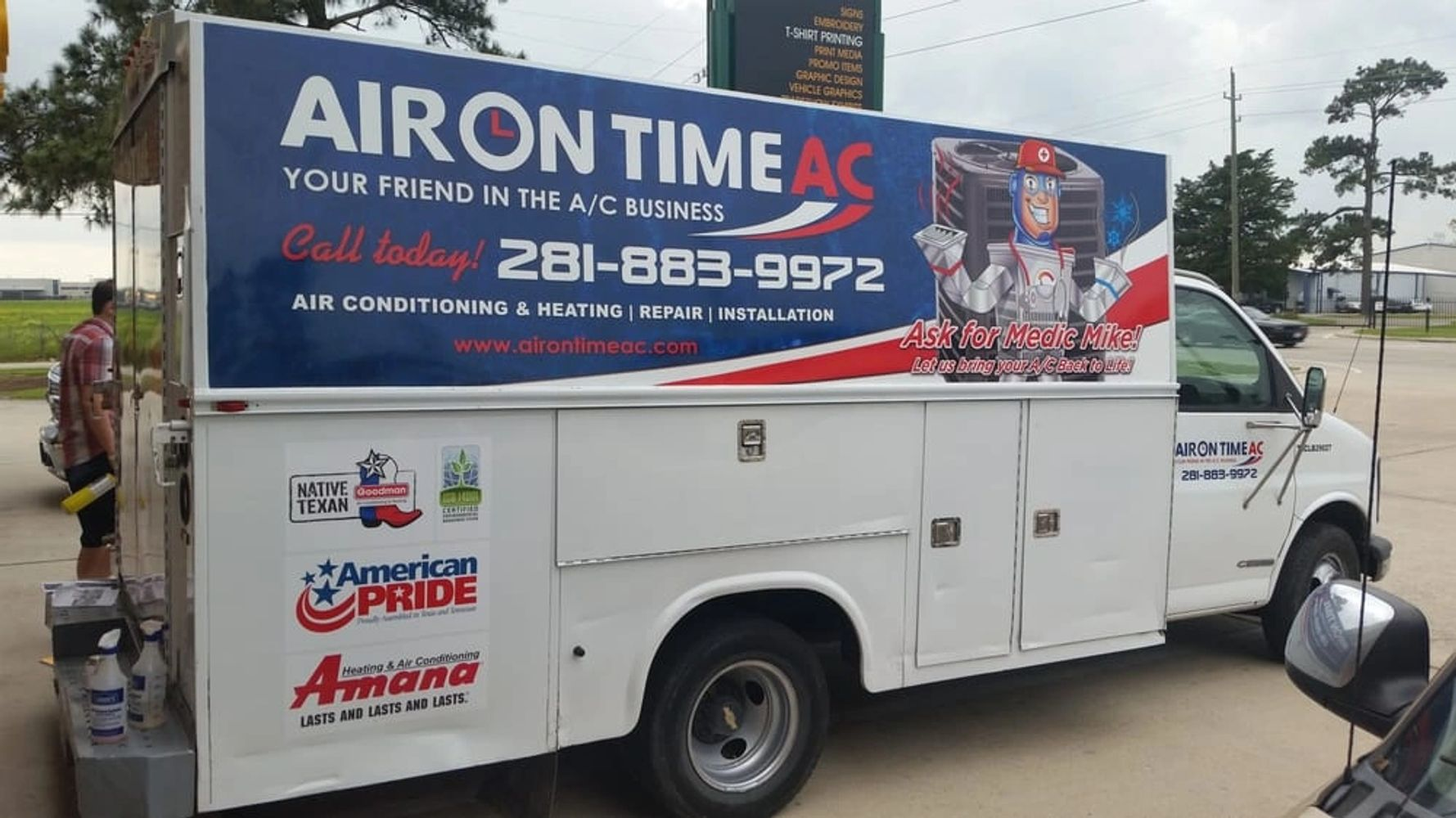 HVAC Repair Contractor in Conroe, Texas.