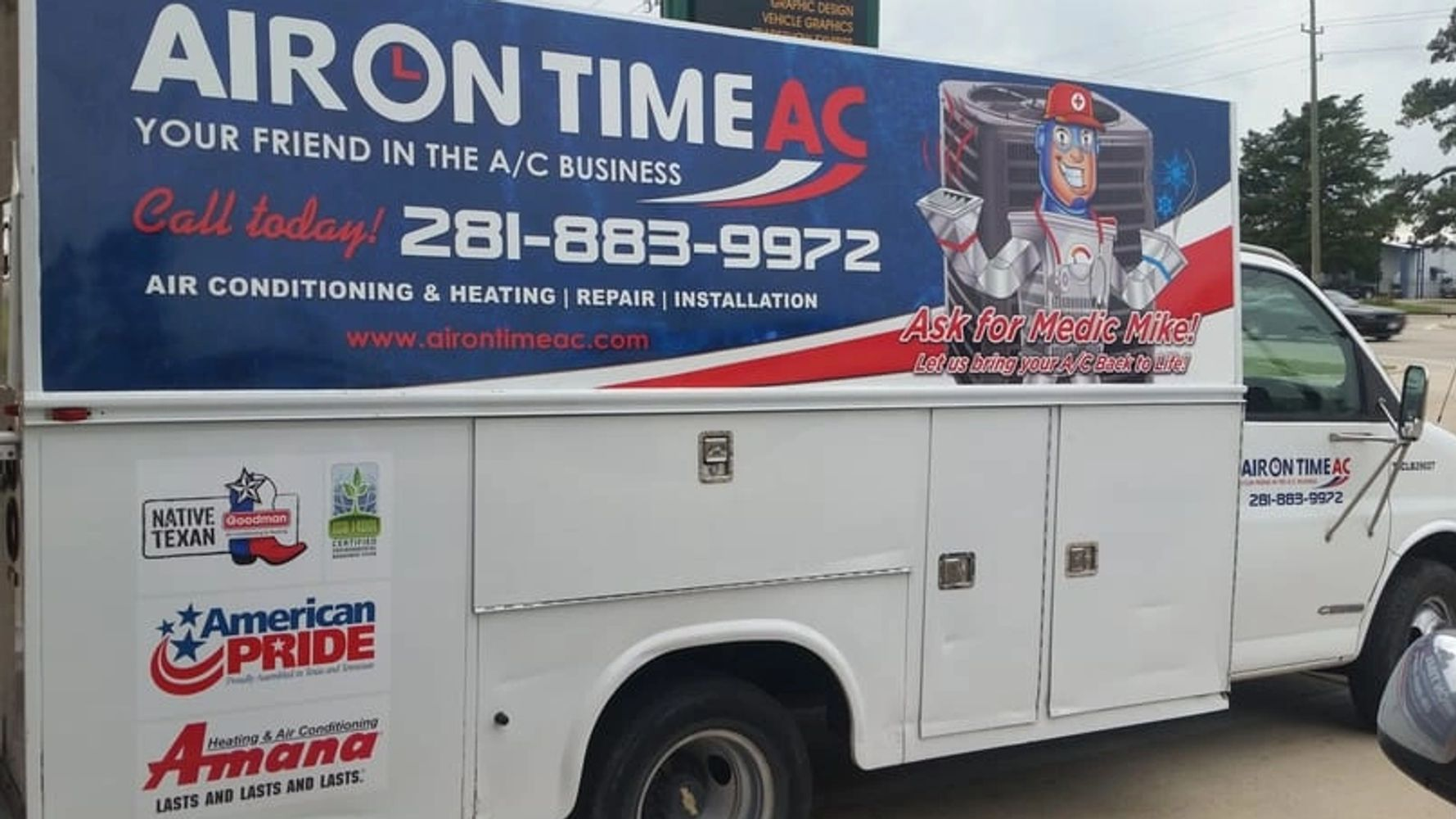 air conditioning repair Conroe, TX and surrounding areas.
