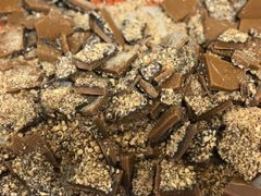Almond Toffee with Dark Chocolate