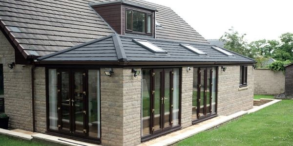 Home Extension Kettering Modern Brick and Glass Building extension UK