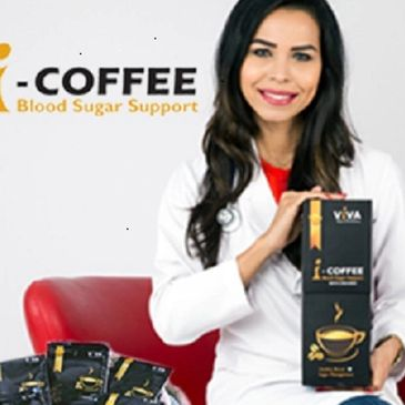 I-COFFEE    Blood Sugar Support Coffee  (Herbal coffee drink with coffee base for healthy blood suga