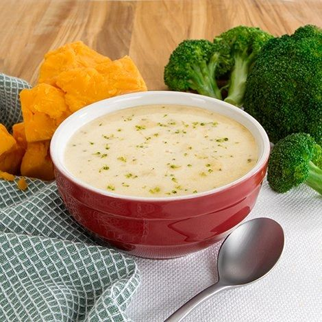High Protein Broccoli Cheddar Soup - 7ct. GF