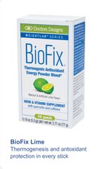 BioFix® Thermogenic Antioxidant Packets - Lime (14ct.)