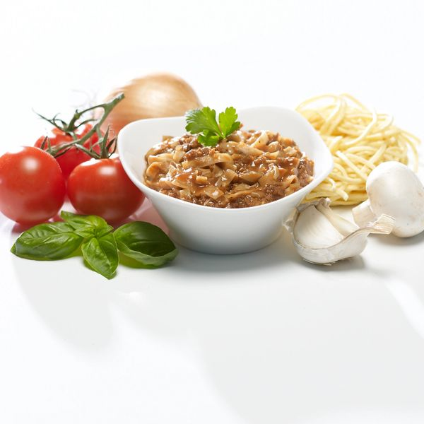 Spaghetti Bolognese - Vegetarian Style (4 per box)