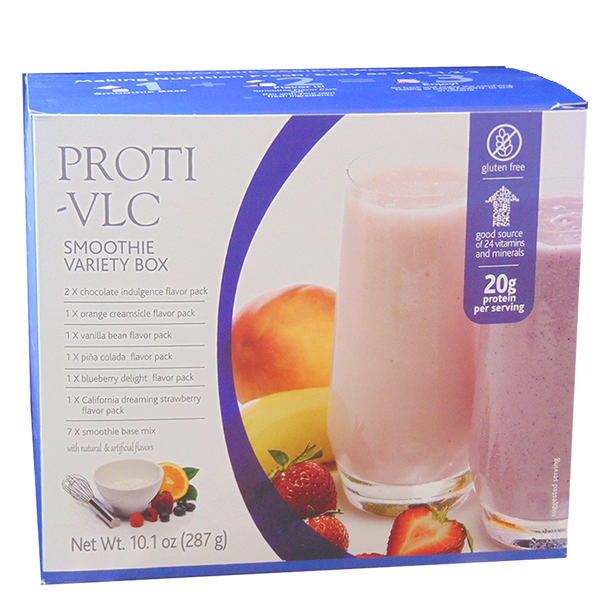 Smoothie Variety Box (Box includes 7 Smoothie Bases & 7 Mix-In Varieties)