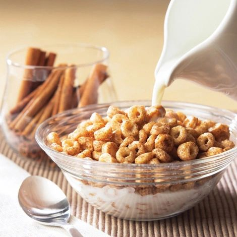 High Protein Cinnamon Vanilla Cereal (5 Single-Serving Packets per box)