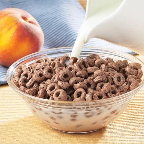 High Protein Cocoa Cereal (7 Single-Serving bags per box)