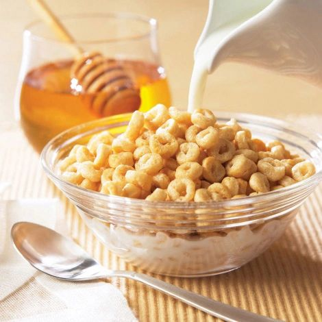 High Protein Honey Nut Cereal (7 Single-Serve packs per box)