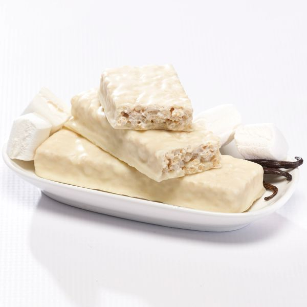Fluffy Vanilla Crisp Bar (7 bars per box)