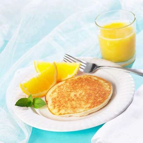 Golden Pancakes (7 per box) - High Protein