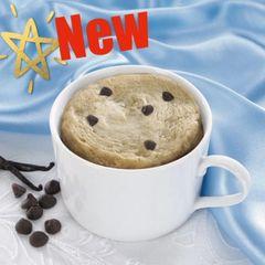 Vanilla Chocolate Chip Mug Cake (7 per box) - High Protein/Gluten Free/Low Carb