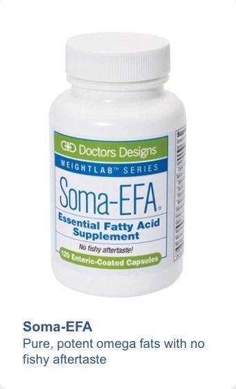 Soma-EFA® Essential Fatty Acid Supplement (120 count)