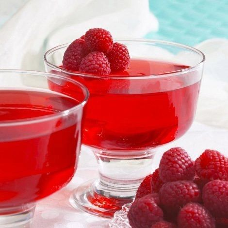 Raspberry Gelatin (7 per box) High Protein/ZERO Carbs