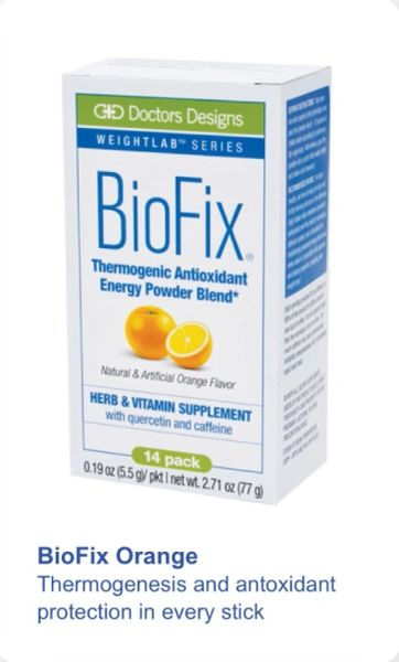 BioFix® Thermogenic Antioxidant Packets - Orange