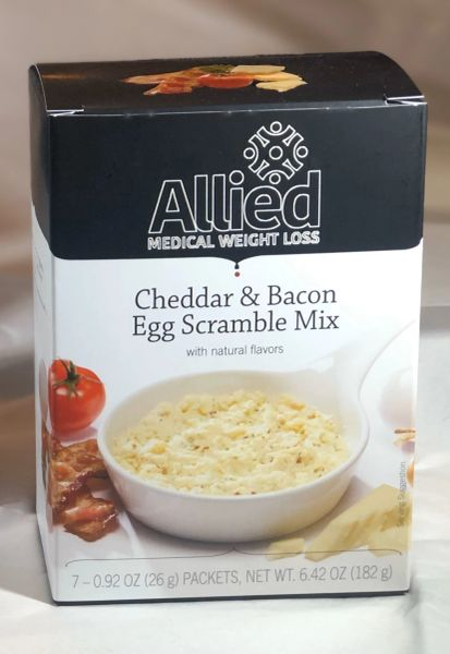 Egg Scrambles - Cheddar & Bacon (7ct) High Protein/Low Carb