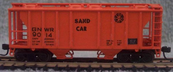 GNWR SAND CAR HO DECAL SET