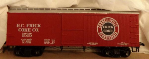 HC FRICK COAL CO. WOOD BOXCAR DECAL SET