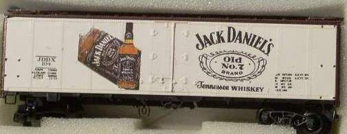 JACK DANIELS SPIRITS CAR. HO DECAL SET