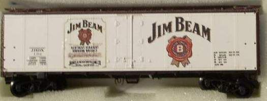 JIM BEAM WHISKEY SPIRITS CAR HO DECAL SET