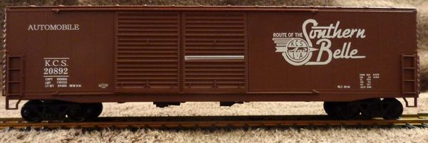 "KANSAS CITY SOUTHER ""SOUTHERN BELLE CAR"""