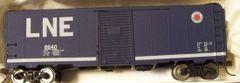 LEHIGH & NEW ENGLAND 40 FT BOXCAR HO DECAL SET.