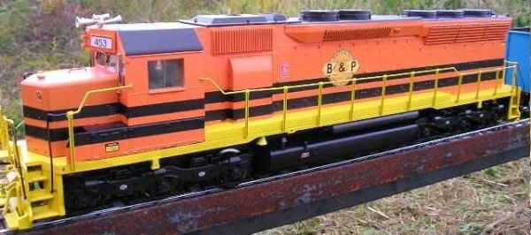 BUFFALO AND PITTSBURGH R.R. LOCOMOTIVE G-CAL DECAL SET.