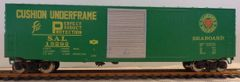 SEABOARD R.R. NEWSPRINT YELLOW INK BOXCAR HO DECAL SET