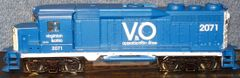 VIRGINIAN & OHIO DIESEL LOCO HO DECAL SET