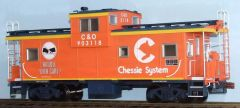 CHESSIE CABOOSE G-CAL DECAL SET. HANDLE WITH CARE.