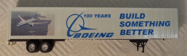 BOEING 53' TRAILER HO DECAL SET
