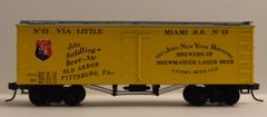 JOHN KELDING BREWMASTER BEER & ALE HO DECAL SET FOR 36 FT WOOD BOXCAR