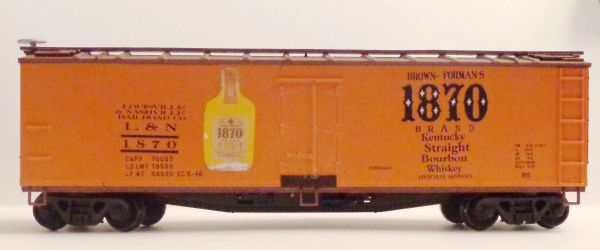 BROWN-FORMAN'S 1870 BRAND WHISKEY- HO SCALE DECAL SET
