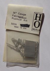 GRANDT 5024 FAIRMONT HAND CAR KIT HO SCALE