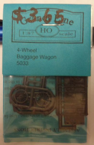5033 GRANDT HO 4 WHL BAGGAGE CART KIT