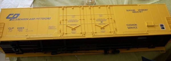 CLARENDON & PITTSFORD EVANS 53 FT BOXCAR HO DECAL SET