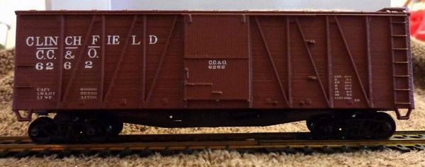CAROLINA, CLINCHFIELD & OHIO R.R. (clinchfield) OUTSIDE BRACED WOOD BOXCAR HO DECAL SET