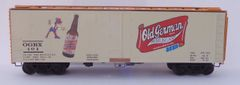OLD GERMAN BEER HO SCALE DECAL SET FOR 40 FT REEFER CAR. ALSO AVAILABLE IN OTHER DIMENSIONS LIKE 36 FT. JUST ASK.