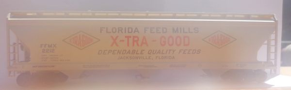 FLORIDA FEED MILLS CYLINDER HPR HO DECAL SET