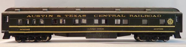 AUSTIN & TEXAS CENTRAL R.R. HO SCALE PASSENGER CAR DECAL SET