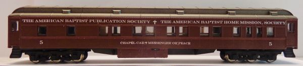 BAPTIST CHURCH -CHAPEL H.W. CAR HO SCALE DECAL SET