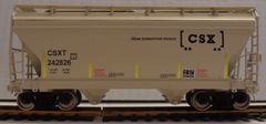 CSX HOW TOMORROW MOVES CYL HOPPER HO DECAL SET