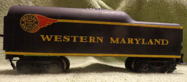WESTERN MARYLAND STEAM LOCOMOTIVE FIREBALL O-SCALE DECAL SET.