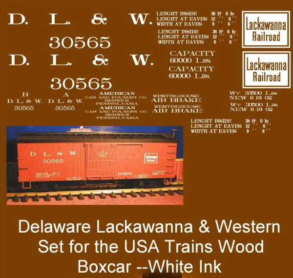 DELAWARE, LACKAWANNA AND WESTERN RR.