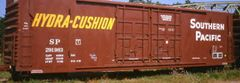 SOUTHERN PACIFIC EVANS TYPE BOXCAR G-CAL DECAL SET