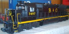 BALTIMORE & OHIO GP SERIES LOCO DIESEL SET