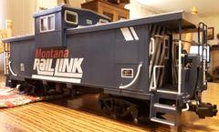 MONTANA RAIL LINK X-VISION CABOOSE G-CAL DECAL SET