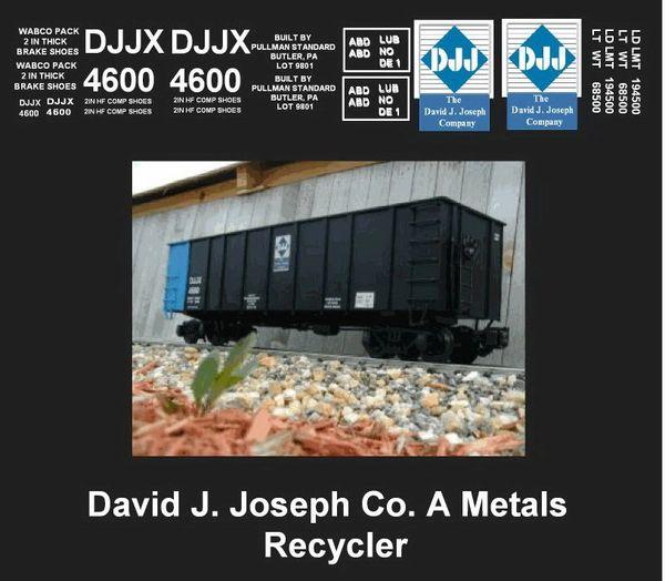 DAVID J. JOSEPH CUSTOM G-CAL DECAL SET FOR THE CUSTOM BUILT TYPE CAR SHOWN HERE.
