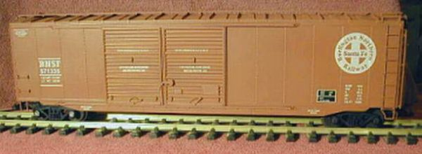 BNSF 50 FT BOXCAR G-CAL DECAL SET