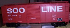 SOO LINE 40 FT SD BOXCAR G-CAL DECAL SET